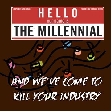 millennials killed the radio star