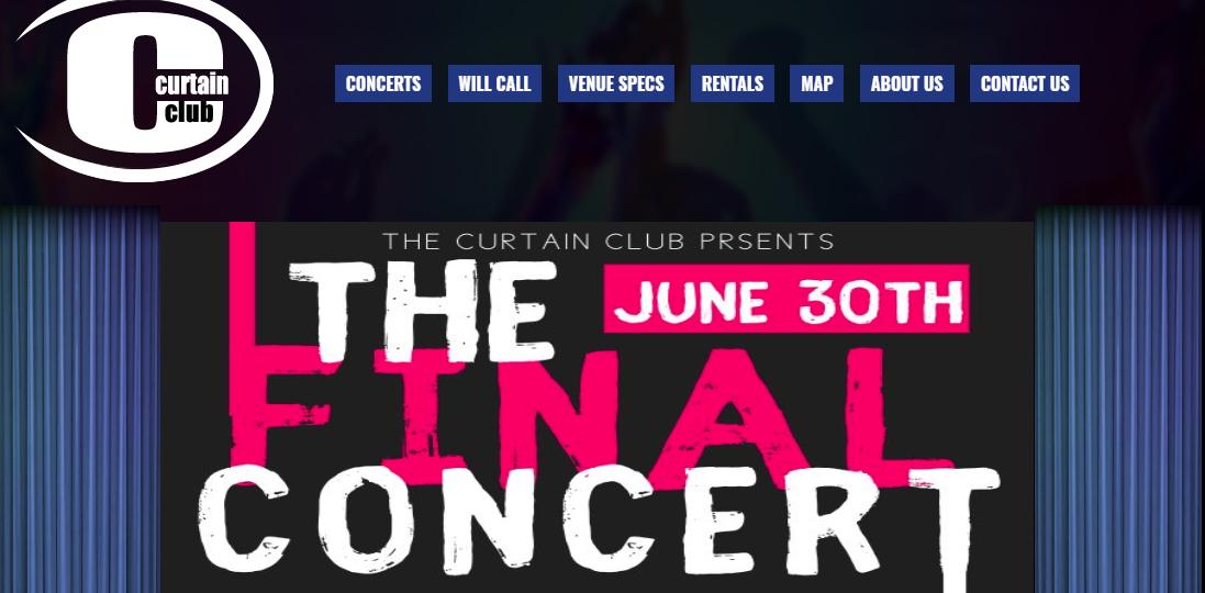 Curtain Club Last Show