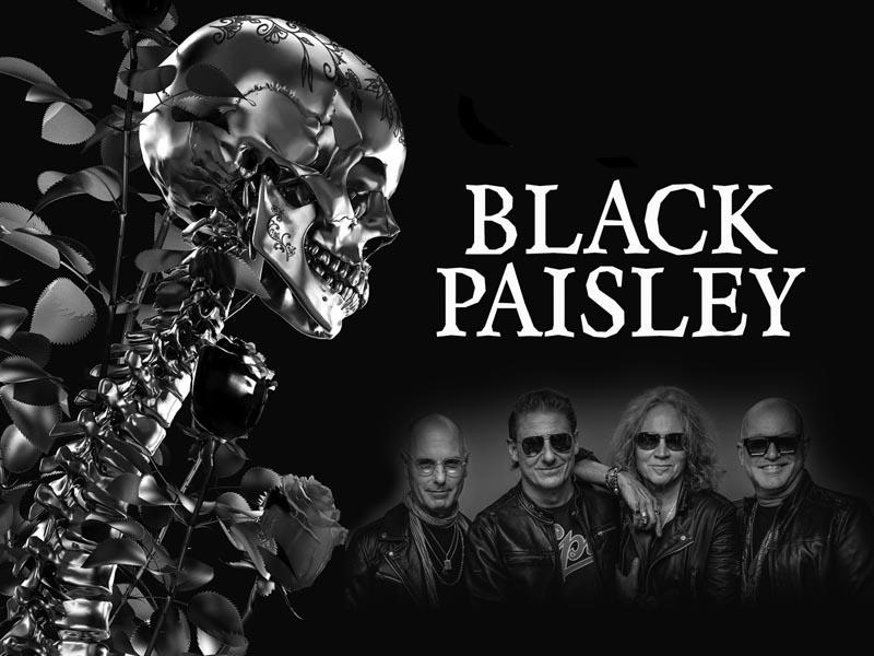 April Icepick – Black Paisley